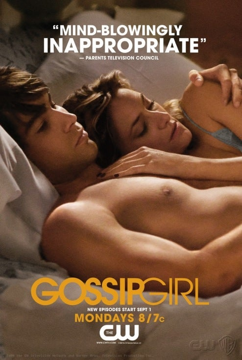 New Ad Campaign Flaunts Gossip Girl's Bad Self