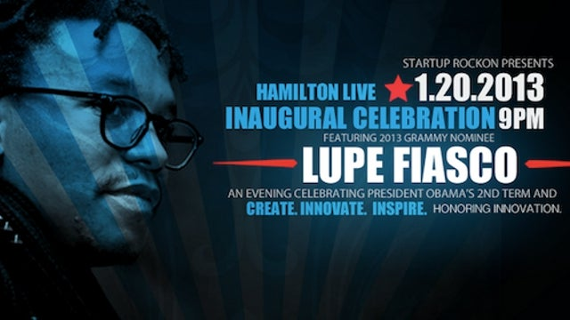 Lupe Fiasco Booted from Stage at Inauguration Party Following 30-Minute 'Anti-Obama Rant'