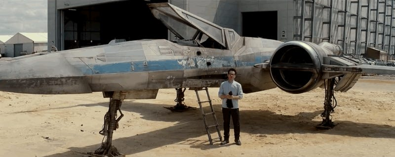 ​A Teasing Look At Star Wars: Episode VII's First Ship