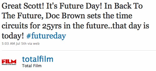 No, Marty McFly Won't Show Up In A DeLorean Today