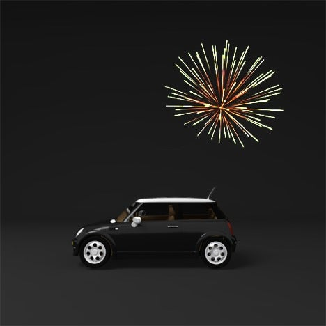 Forget the Panic Button: Fireworks Will Help Lead You To Your Car
