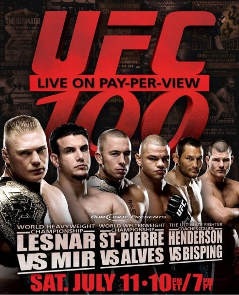 UFC 100 Will Be The Biggest Event Ever!!!
