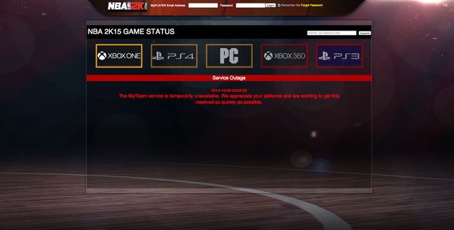 NBA 2K15 Players Report Widespread Problems, Lost Progress