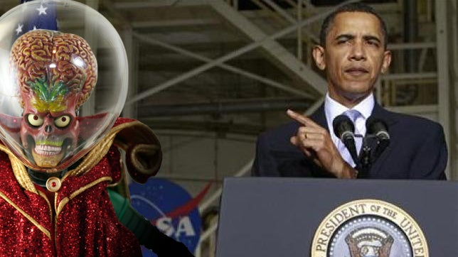 "Obama: ""If You Make Contact with Martians, Please Let Me Know Right Away"" (Updated)"