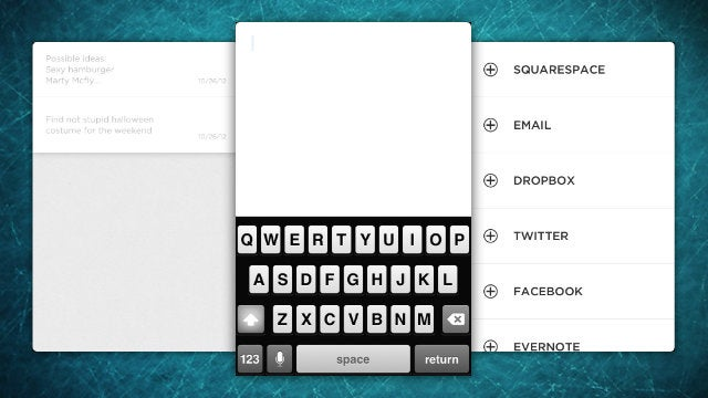 Squarespace Note Is an Elegant, Simple Note Taking App that Doesn't Require Squarespace