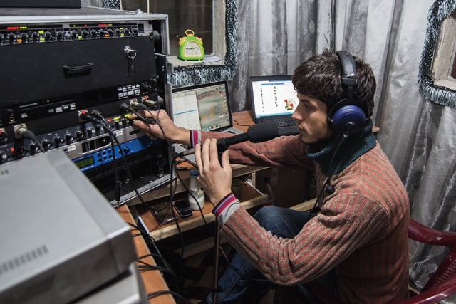 The Sound of Revolution: Radio on the Front Lines of the Syrian Uprising