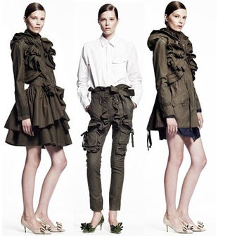Valentino Collection For Gap Is A Big, Ruffled Mess