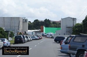 Hobbit set photos