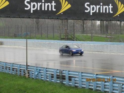 Rain, Snow And A Slow Car At Watkins Glen