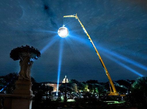 Paris Gets C'est Chic With World's Largest Disco Ball