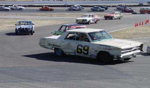 Oldest Car At LeMons: The Size Matters '67 Fury!