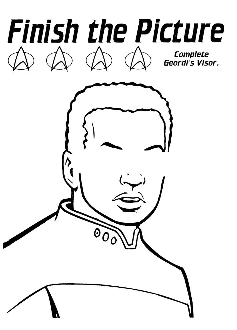 Niedlich Star Trek Malvorlagen Galerie - Beispiel Business ...