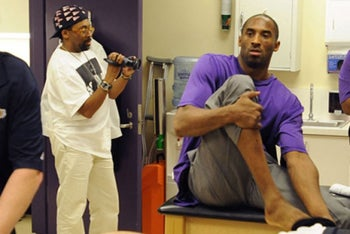 I'm Kobe Bryant, And I'm Taking Over This Motion Picture
