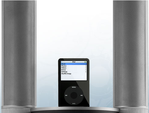 Tower by mStation Is One Tall Drink of iPod