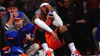 Report: Carmelo Is Going Back To The Knicks (Update: Maybe?)