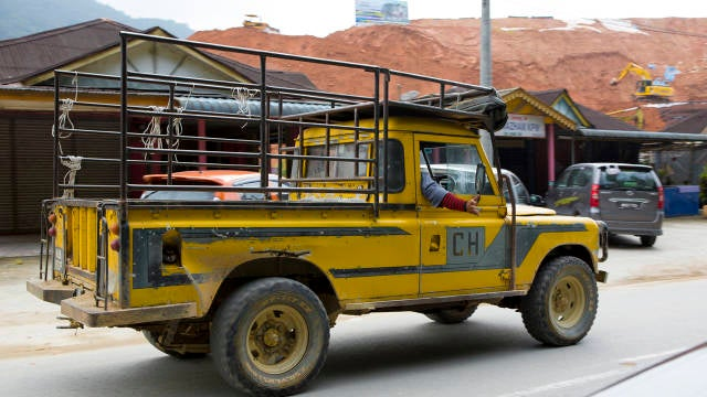 Malaysia Is Where Land Rovers Go To Die