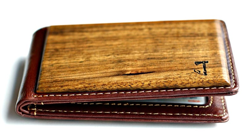 It's Too Bad This Zebrawood Wallet In Your Pocket Will Lead To Many Terrible Jokes
