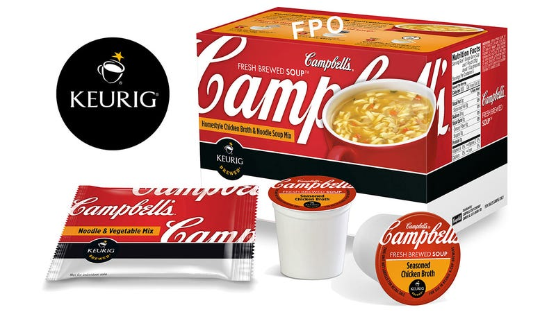 The Campbell's Soup K-Cup Is Everything Right and Wrong With Keurigs