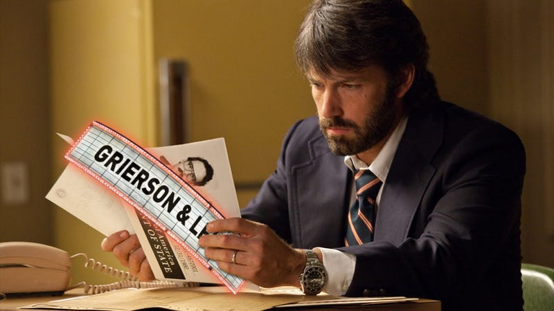 Ben Affleck's Only Weakness As A Director: Casting Ben Affleck. Argo, Reviewed.