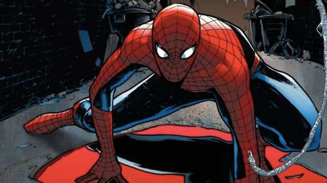 In this week's comics, two Spider-Men meet up across universes