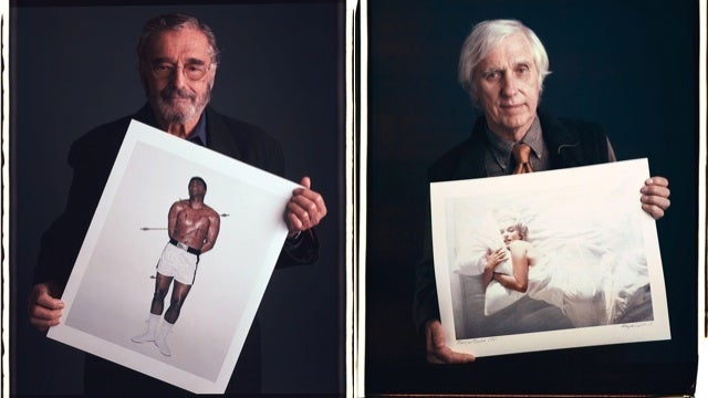Here Are Famous Photographers Posing with Their Even More Famous Photographs