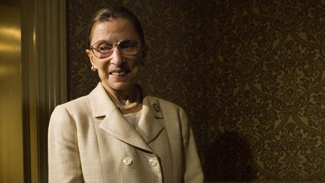 Ruth Bader Ginsburg Delightfully Responds to Admirer's Wedding Invite