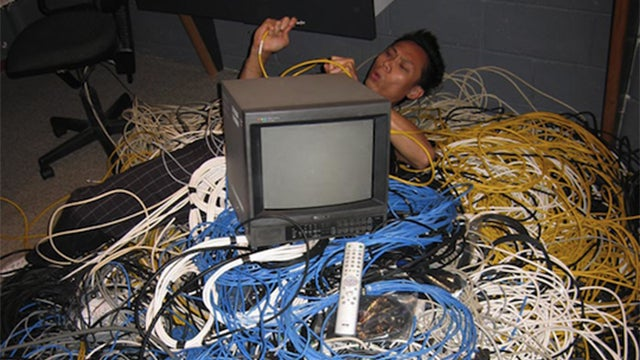 how to get rid of wires
