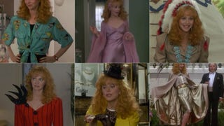 Every Outfit Shelley Long Wears in <em>Troop Beverly Hills</em>, Ranked