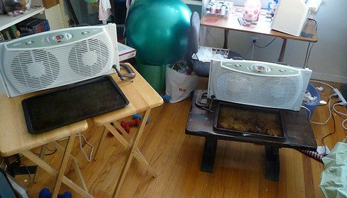 Set Up a Super Simple Evaporative Cooler for Immediate Heat Relief