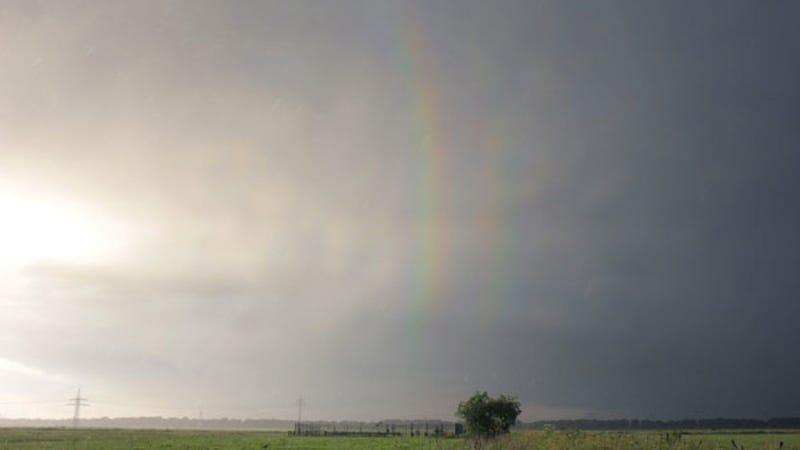 Feast your eyes on a complete quadruple rainbow