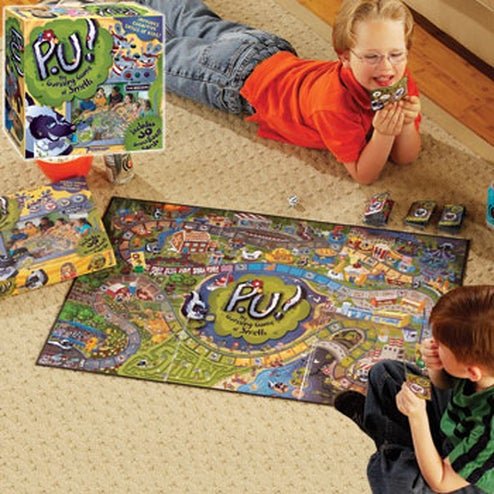 P.U. Smelly Board Game Begs for an Adult Version