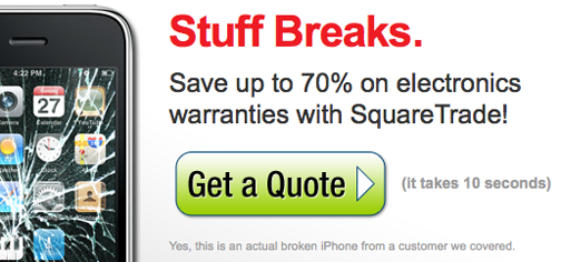 SquareTrade's iPhone 3GS Warranty Covers Clumsiness, Stupidity, and Human Nature