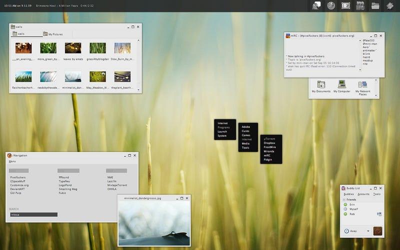 The Million Years of LiteStep Desktop