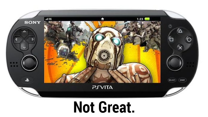 Borderlands 2 On Vita Is The Worst Version Of A Good Game
