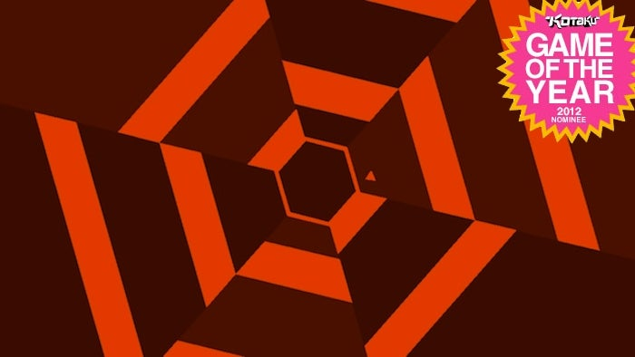Why Super Hexagon Should Be Game of The Year