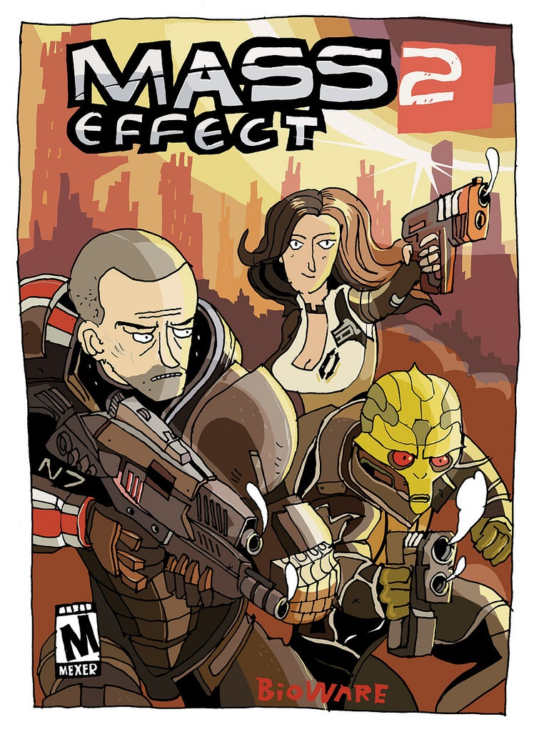 I Don't Remember Mass Effect's Cover Featuring This Much Whimsy