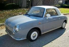 Who wants a Nissan Figaro?