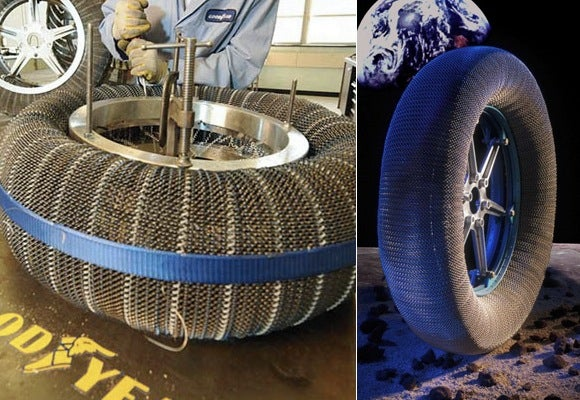 Goodyear's Moon Tires Simply Do Not Deflate, Ever