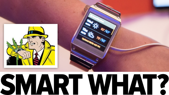 The first smart watches are as stupid as I imagined