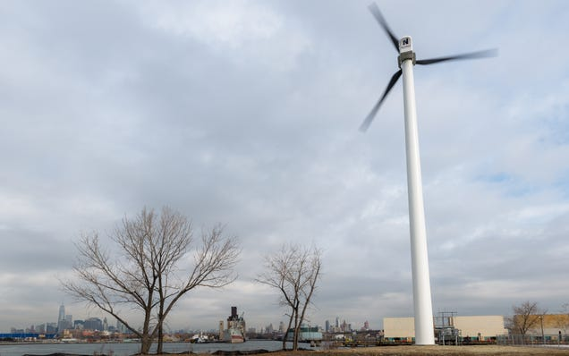 My Climb to the Top of New York City's Tallest Wind Turbine