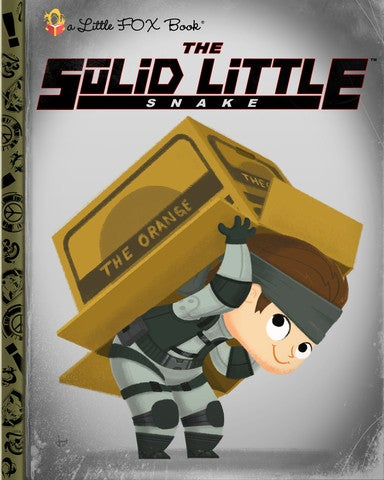 The Last Of Us, Gears Of War, And More As Little Golden Books
