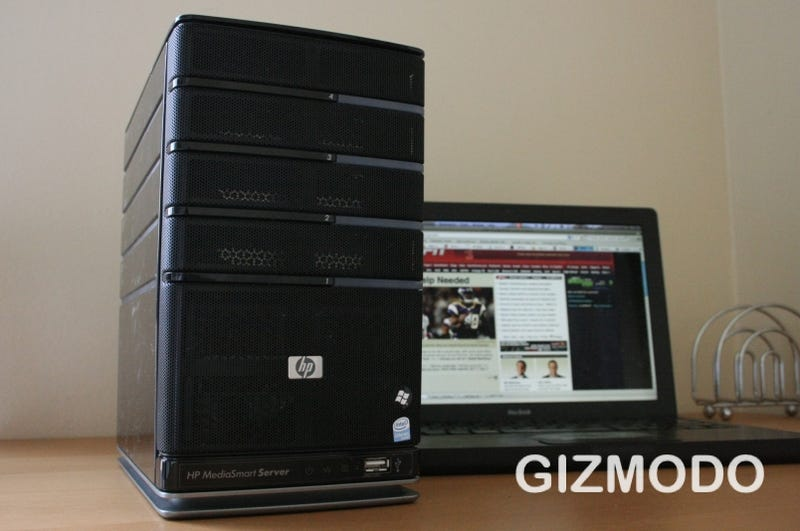 HP MediaSmart EX487 Server Has Remote MP3 Streaming, Mac Time Machine Compatibility