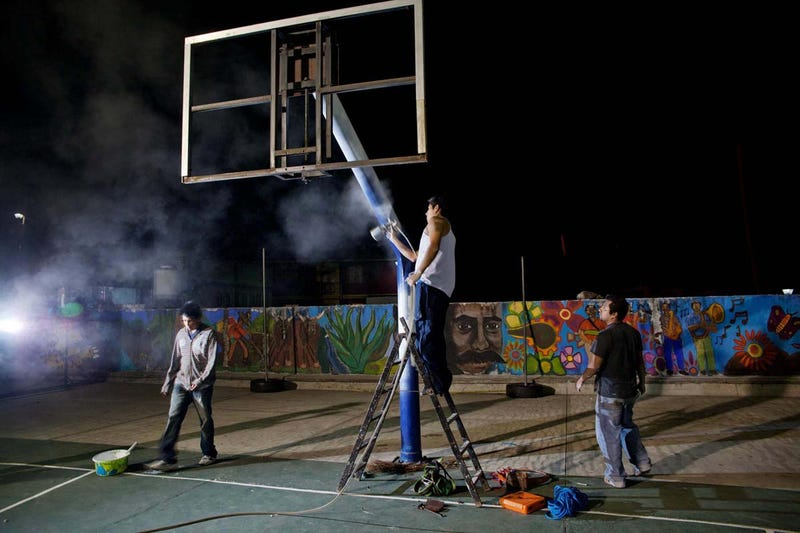The Fantastic World Of Mexican Basketball, Photos By Jorge Santiago