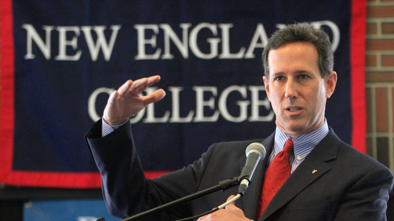 Santorum Disowns Slogan by Gay Black Poet