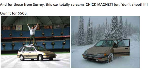 This 4WD Civic Wagon Is A Candian Chick Magnet
