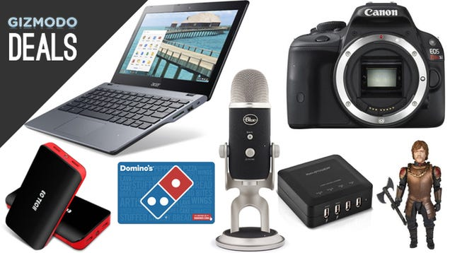 Deals: Acer Chromebook, Blue Microphones, Gift Cards, Tyrion Lannister