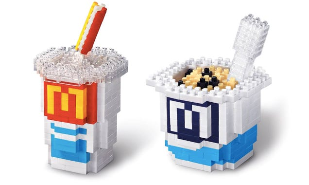 McDonald's New Nanoblock Sets Are the Safest Things You Can Eat There