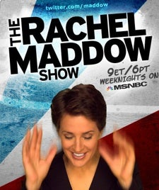 The Rachel Maddow Show is the Forwarded Email of Televised Political Satire