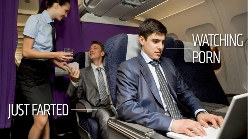 The Ten Rudest Things You Can Do On An Airplane
