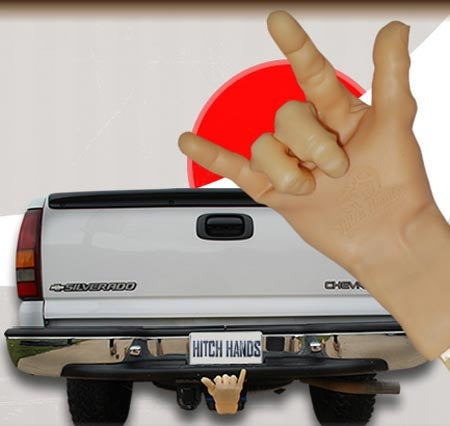 Coming Soon To Accessorize Your Truck Nuts: Hitch Hands